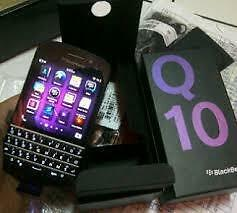 Blackberry Q10 Black Brand New Unlocked   CALL   647-875-7109