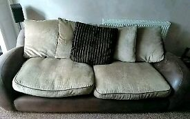 2 & 3 seated sofas MUST GO DFS