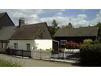 Charming Small Cottage with Detached Large Barn with consent in South Normandy, France