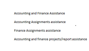 Accounting and Finance Thesis/Assignment/Dissertation assistance Melbourne CBD Melbourne City Preview
