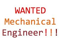 **WANTED** Mechanical Engineering/Technician to work for our dynamic business!Do you want a fun Job?