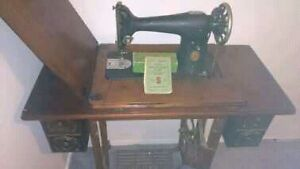 Singer Treadle Sewing Machine Beachmere Caboolture Area Preview