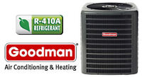 Goodman Central Air and Heat Pumps