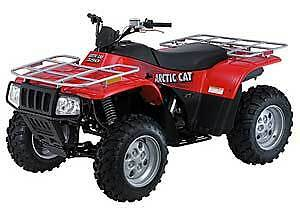 2004 arctic cat 250 300 400 500 atv utility service repair manual 4x4 workshop. Black Bedroom Furniture Sets. Home Design Ideas