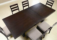 NEW in BOX! Extendable Dining Table Set!