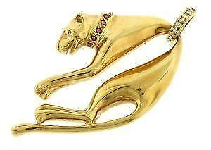 Panther pendant ebay gold panther pendants mozeypictures Image collections