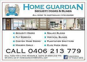 SECURITY DOORS BLINDS & FLY SCREENS