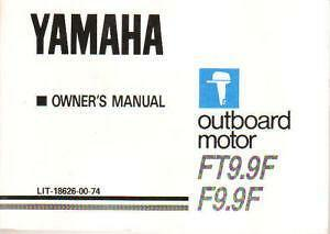 Yamaha Outboard Manual | eBay on