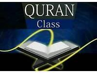 Qur'aan & Urdu class ( kids & women)
