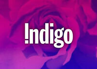 $85 INDIGO gift card for sale