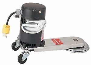 Radiator/toe kick edger