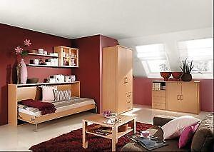 Schrankbett g nstig online kaufen bei ebay for Kinderzimmer querklappbett