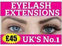 £45 INDIVIDUAL EYELASH EXTENSIONS Wedding Dress Nails Health Beauty Spray tan Makeup Asian Eye Lash
