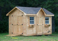Solid & Superior in Quality Bunk Houses, Garden Sheds,