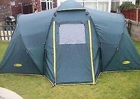 Khyam Conquest quick erect 4 man tent