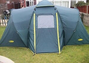 Khyam tent Sleeps 4 Flexi-dome quick erect tent High quality Adaptable rooms & Khyam tent Sleeps 4 Flexi-dome quick erect tent High quality ...
