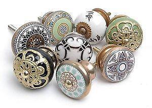 large ceramic door knobs