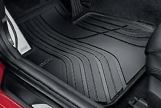 Genuine BMW 3 Series All Weather Front Rubber Floor Mats 51472339778