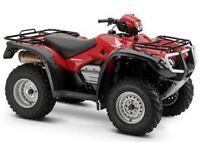 Wanted Honda farm quad 350cc upwards 4x4