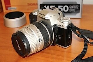 Pentax MZ-50 plus 2 sigma lenses and carry case Sherwood Brisbane South West Preview
