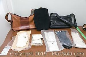 7 Pairs of Vintage Gloves and 3 Purses A