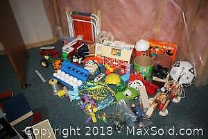 Fisher Price, Fire Trucks, Viewmaster And More B