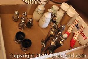 Salt And Pepper Shakers. A