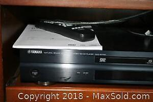 Yamaha DVD/CD Player and DVDs