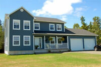 PRIVATE SALE! 2 storey home on acre lot in Charters Settlement