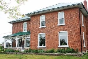Beautiful century farm on 66 acres in Stirling on