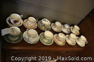 Cups and Saucers. B