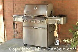 Weber BBQ And Cover. A