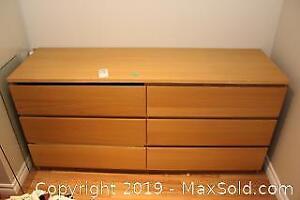 6 Drawer Dresser C