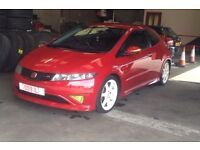 Honda civic type R 2008 only 50646 miles