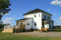 RENOVATED HOME OVERLOOKING THE RIVER ~ 972 Rte 535, Cocagne