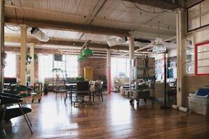 Loft commercial louer for rent bureau office atelier espaces commerciaux - Loft a louer montreal ...