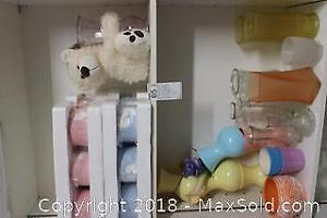 Vases And Bear. B