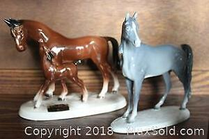 Horse Figures. A