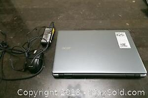 Acer Laptop with Microsoft Mouse A