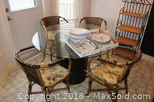 Dining Table and Chairs C