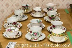 Teacups And Saucers- A