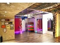 Studio hire ( dance, fitness, rehearsals, workshops, photography)