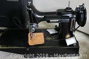 Singer Sewing Machine. A