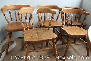 Set of Dining Chairs. B