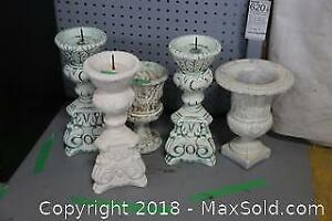 Urns and Candle Holders B