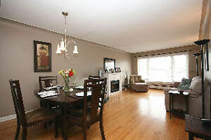 Quiet, All-Inclusive 3 bedroom duplex, city central (April 1st)
