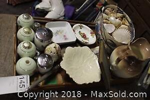 Coddlers, Shells, Album And Pitcher. C