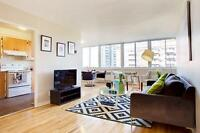 West Montreal living: spacious two bedroom apartment with hardwo