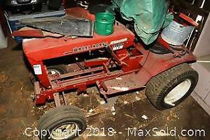 Tractor Frame And Attachments. D