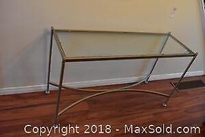 Sofa Table. A